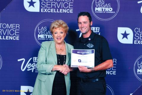 Las Vegas Pest Control Customer Service Award