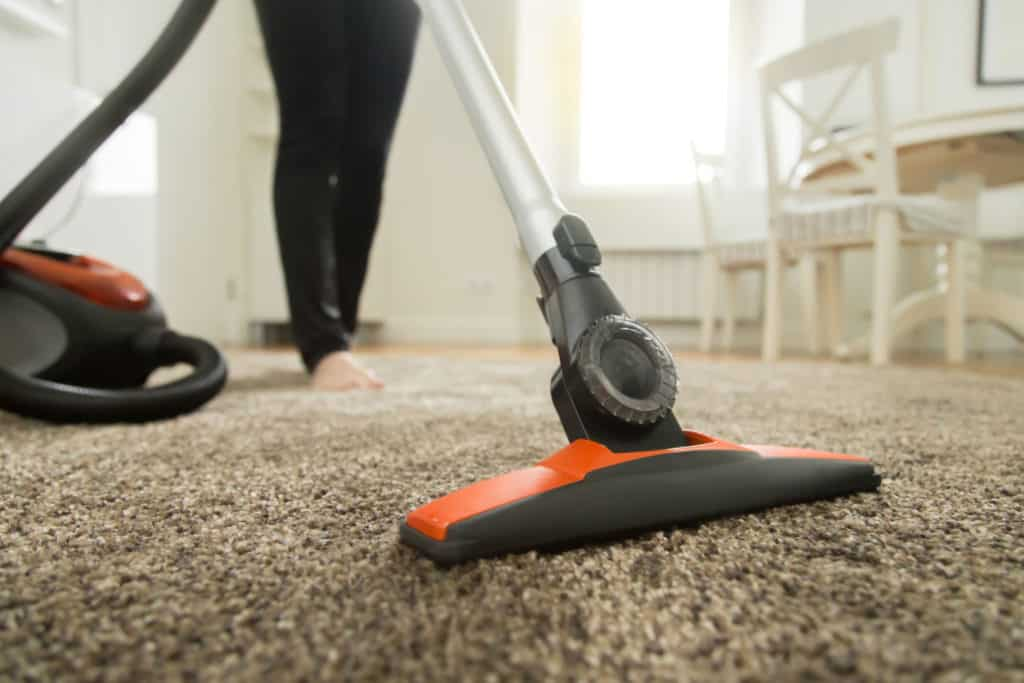 vacuuming your home to remove bed bugs